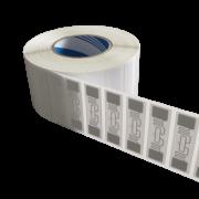 Etiqueta RFID UHF 900 MHz para Para-brisa 74X24 - 100 unidades