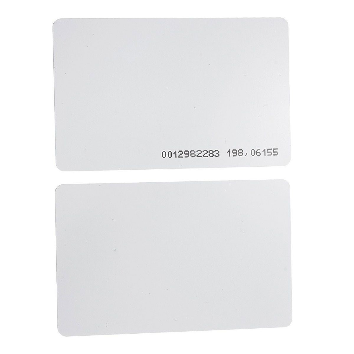 Cartão RFID 125 KHz PVC - 50 unidades