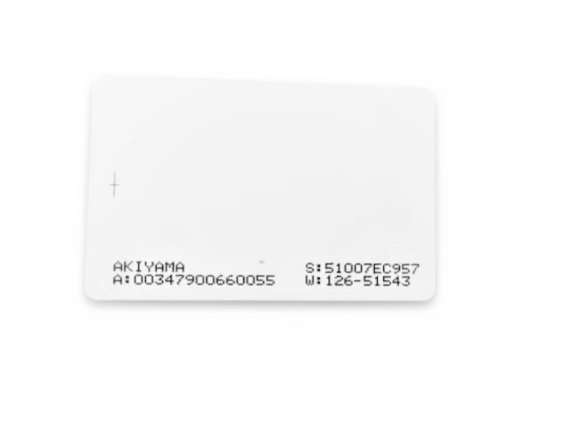 Cartão RFID NEO-ISO ABA TK2 125 KHz - 100 unidades