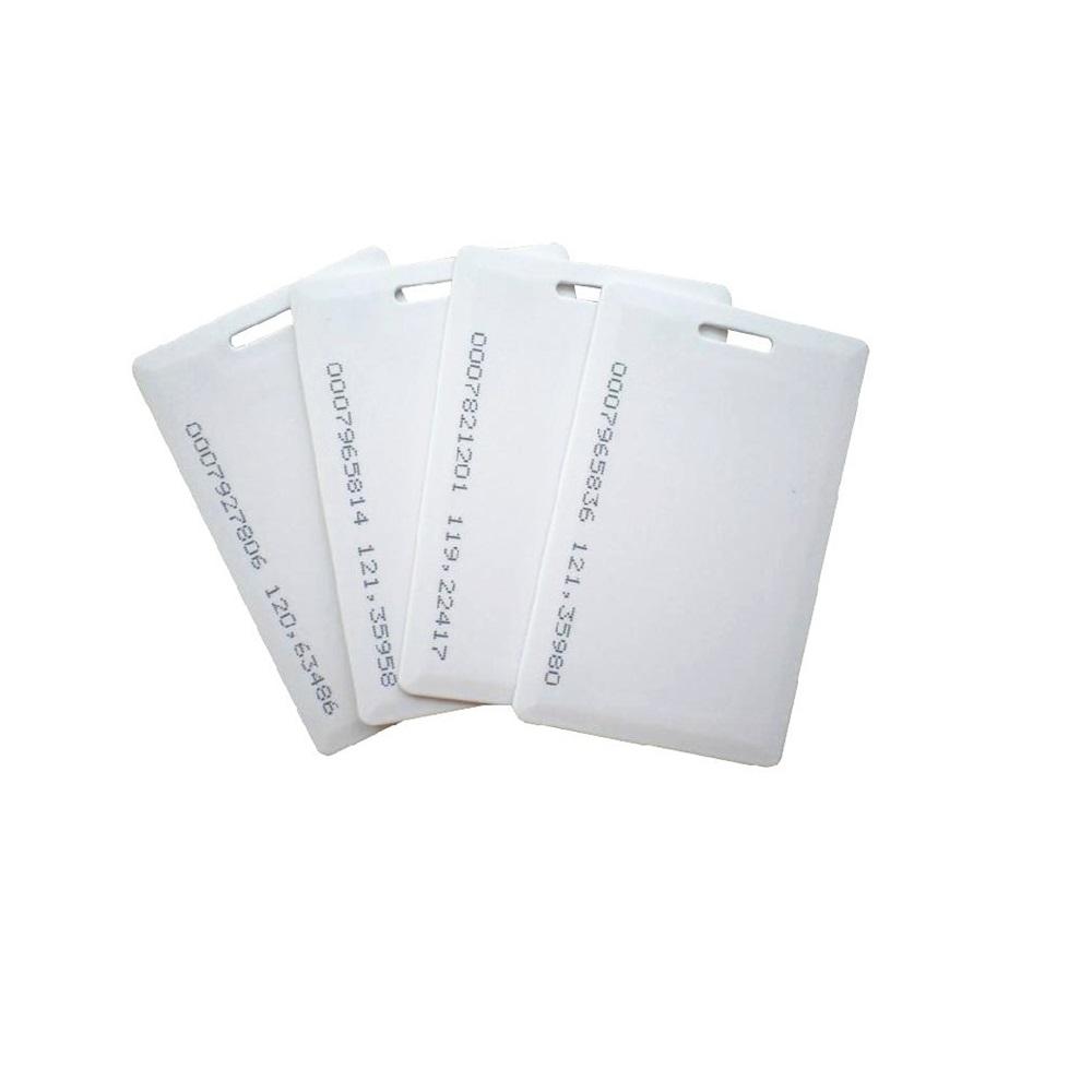 Crachá RFID 125 KHz - 500 unidades