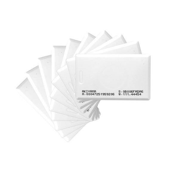 Crachá RFID NEO-CLA ABA TK2 125 KHZ - 100 unidades