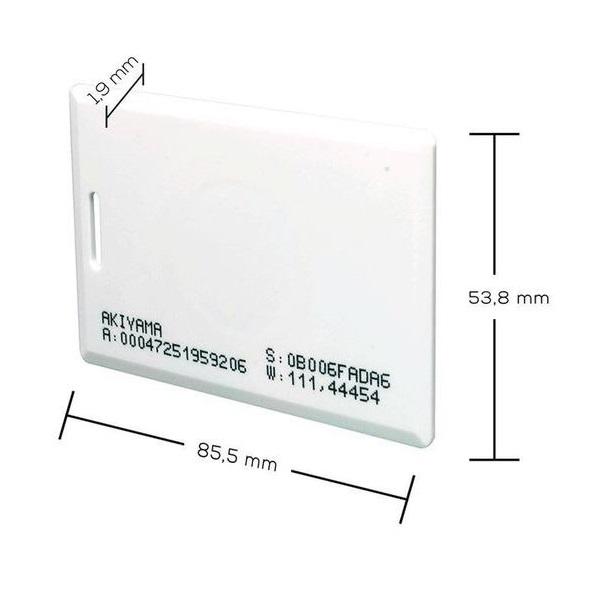 Crachá RFID NEO-CLA ABA TK2 125 KHZ - 50 unidades