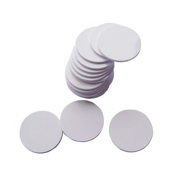 Etiqueta Adesiva Rígida RFID 125 KHz Regravável - 100 Unidades