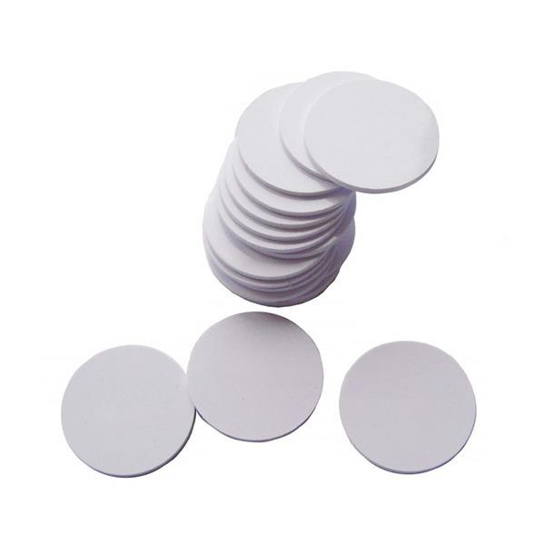 Etiqueta Adesiva Rígida RFID 125 KHz Regravável - 10 Unidades