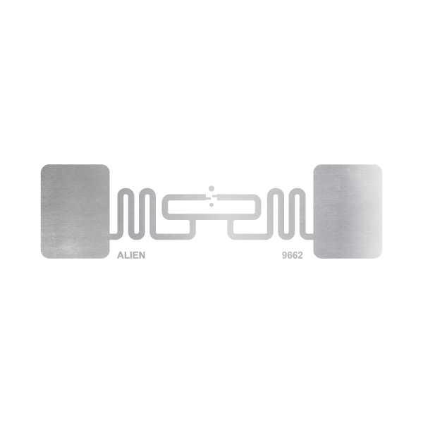 Etiqueta RFID UHF 900 MHz para Para-brisa 74X24 - 10 unidades