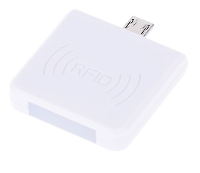 Leitor RFID 13,56 MHz KHz OTG