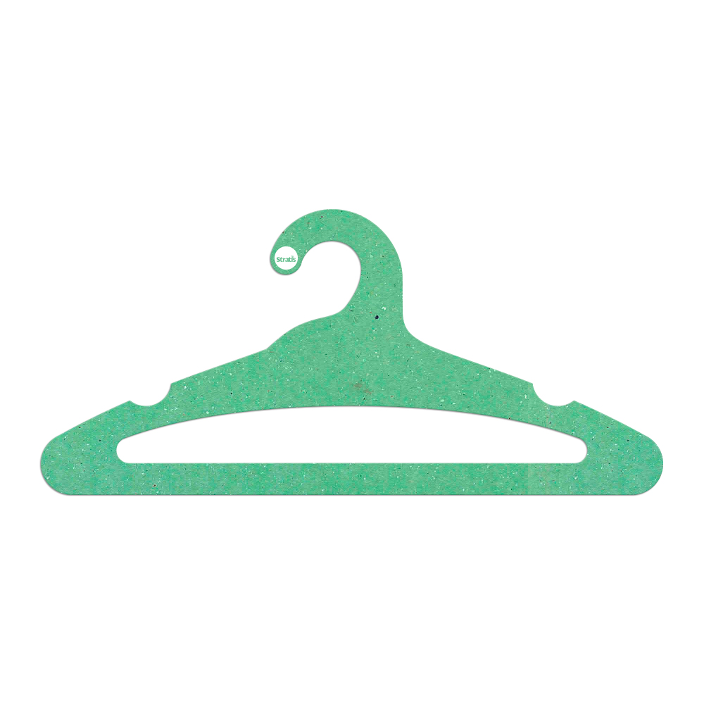 Cabide Ecológico Adulto Aberto -  Verde Claro - CS105