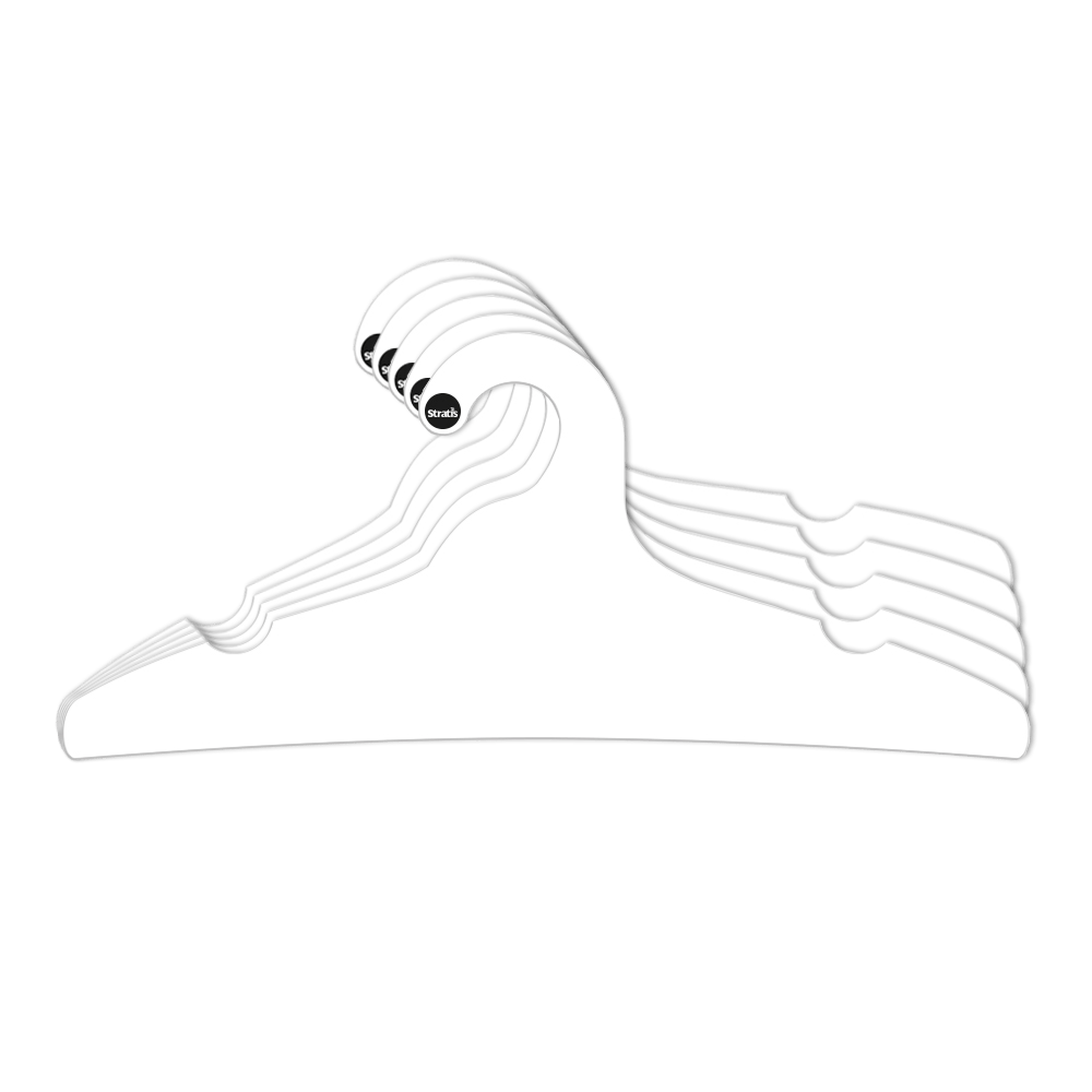 Cabide Ecológico Adulto -Branco - CS104