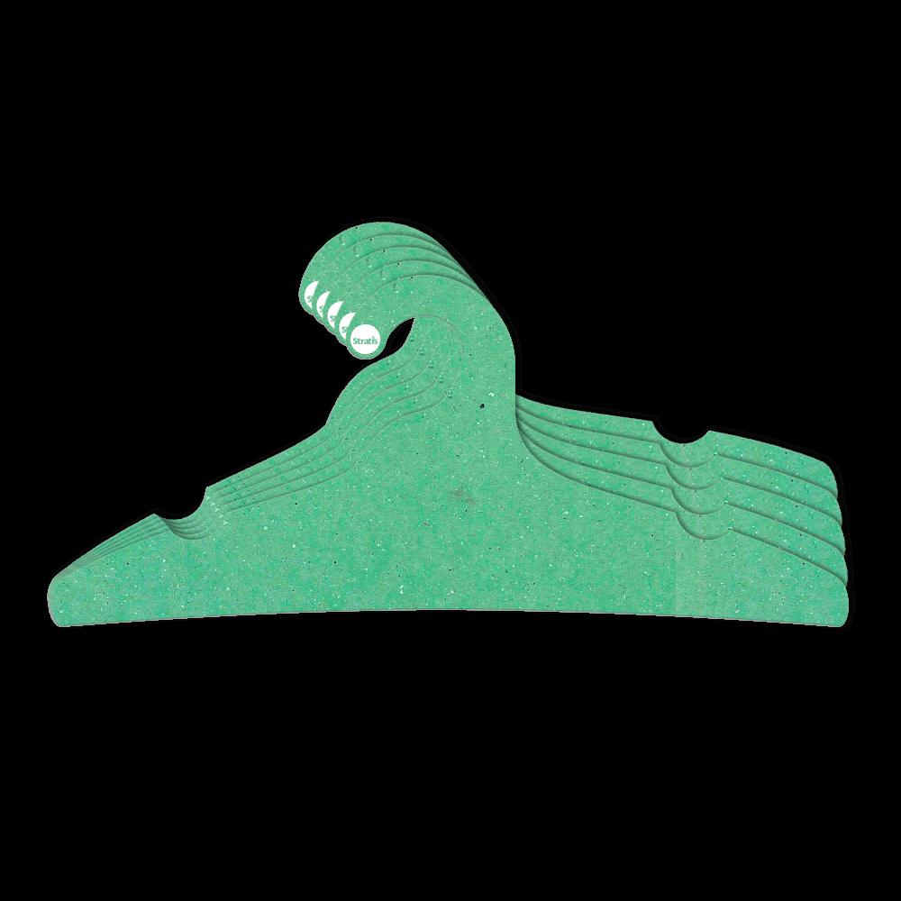 Cabide Ecológico Adulto -  Verde Claro - CS104