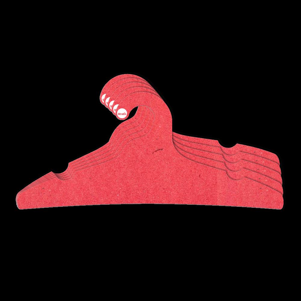 Cabide Ecológico Adulto -  Vermelho - CS104