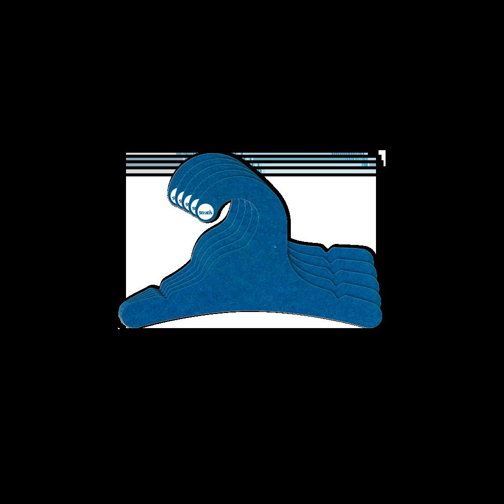 Cabide Ecológico Infantil - Azul Royal - CS100