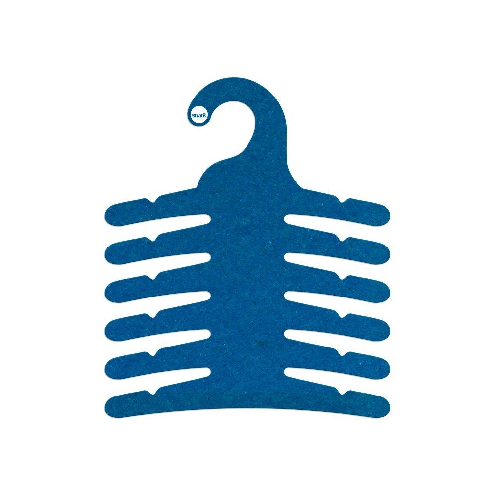 Cabide Ecológico Infantil Multifuncional - 6 Ganchos - Azul Royal - CS115