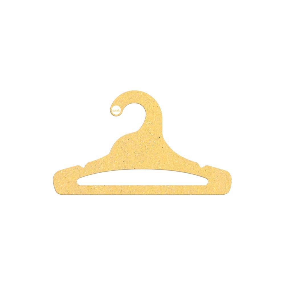 Cabide Ecológico Juvenil Aberto - Amarelo - CS103