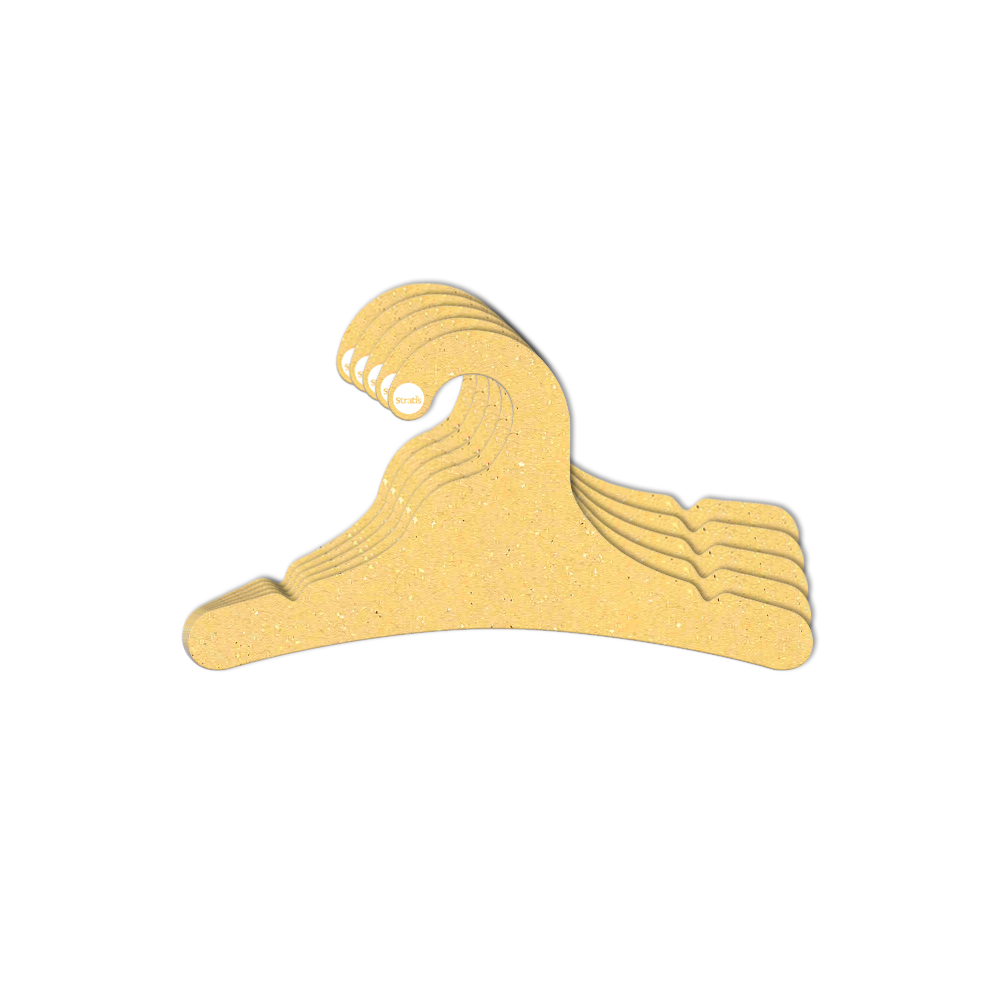 Cabide Ecológico Juvenil- Amarelo - CS102