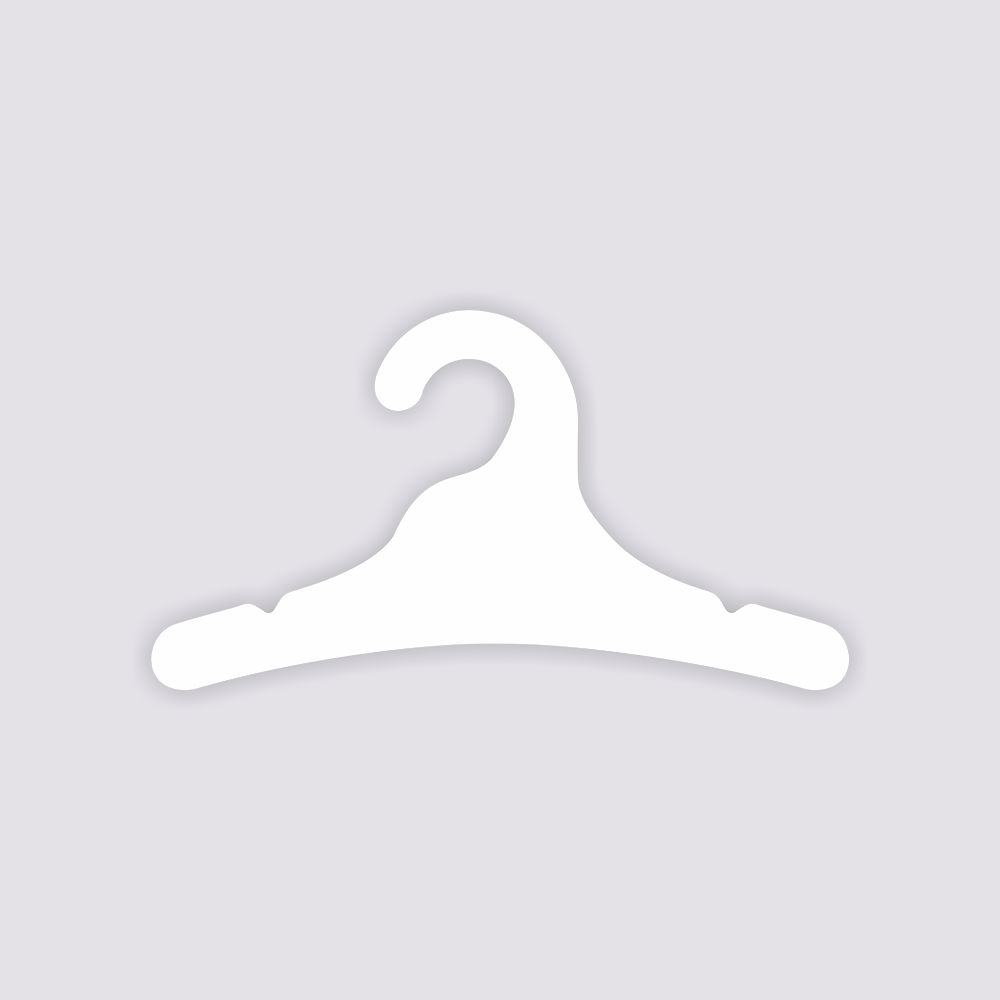 Cabide Ecológico Juvenil- Branco - CS102