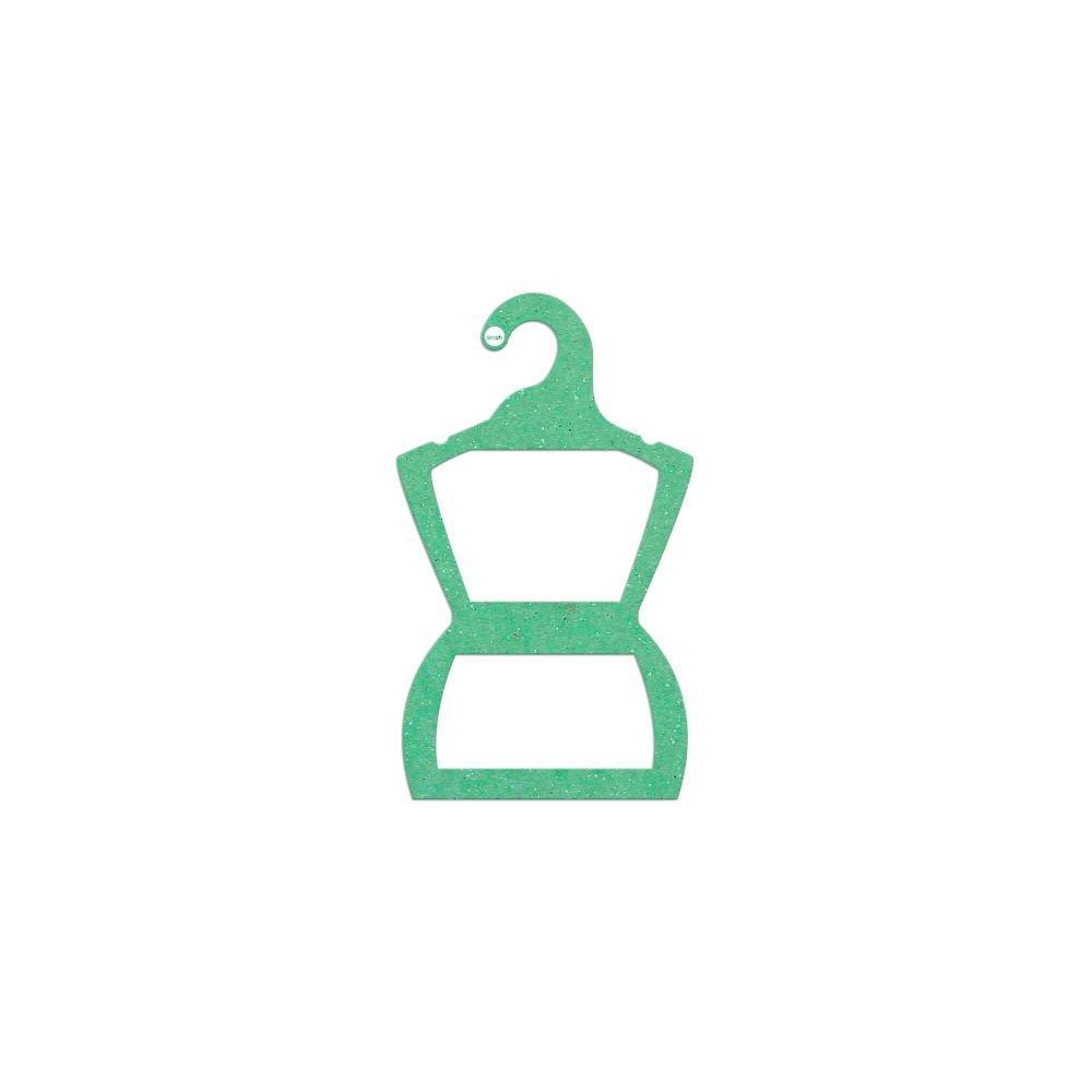 Cabide Ecológico Silhueta Bebê - Verde Claro - CS106