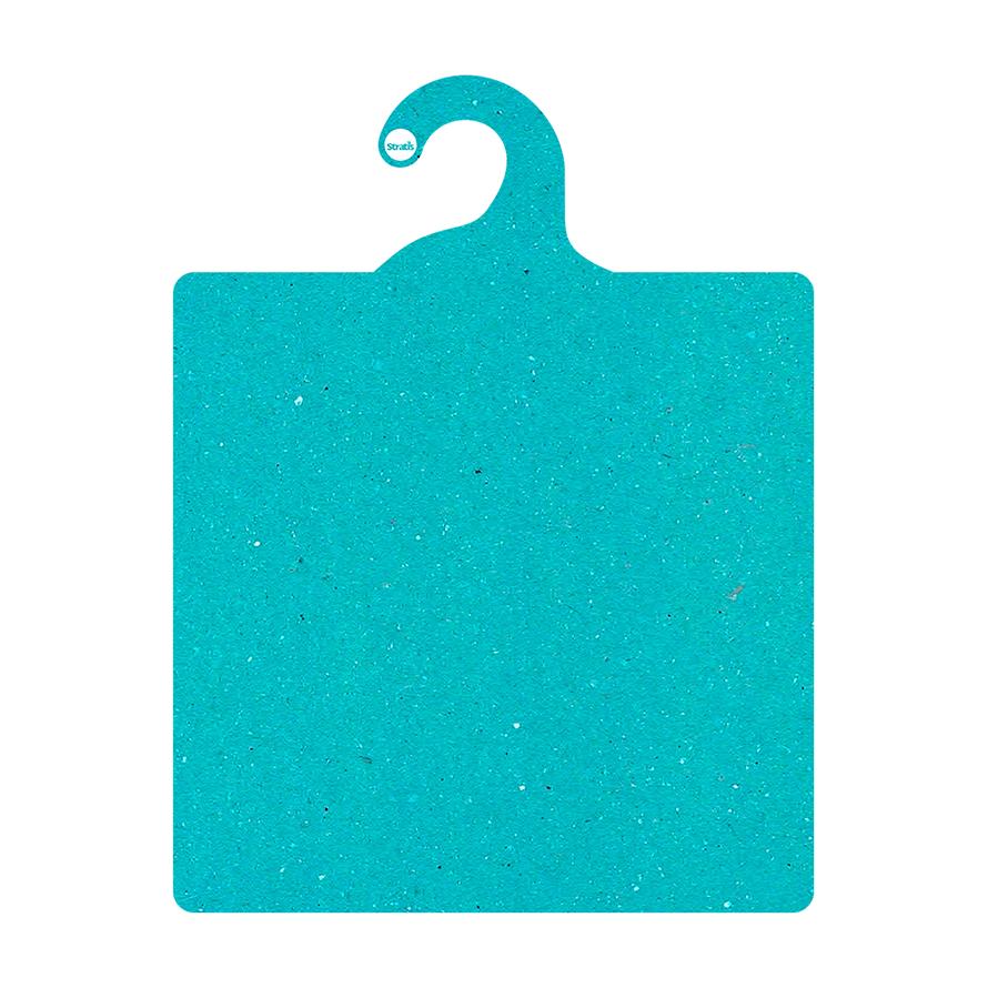 Kit Gabarito Ecológico  para Dobras de Roupas - Azul Ciano - CS506