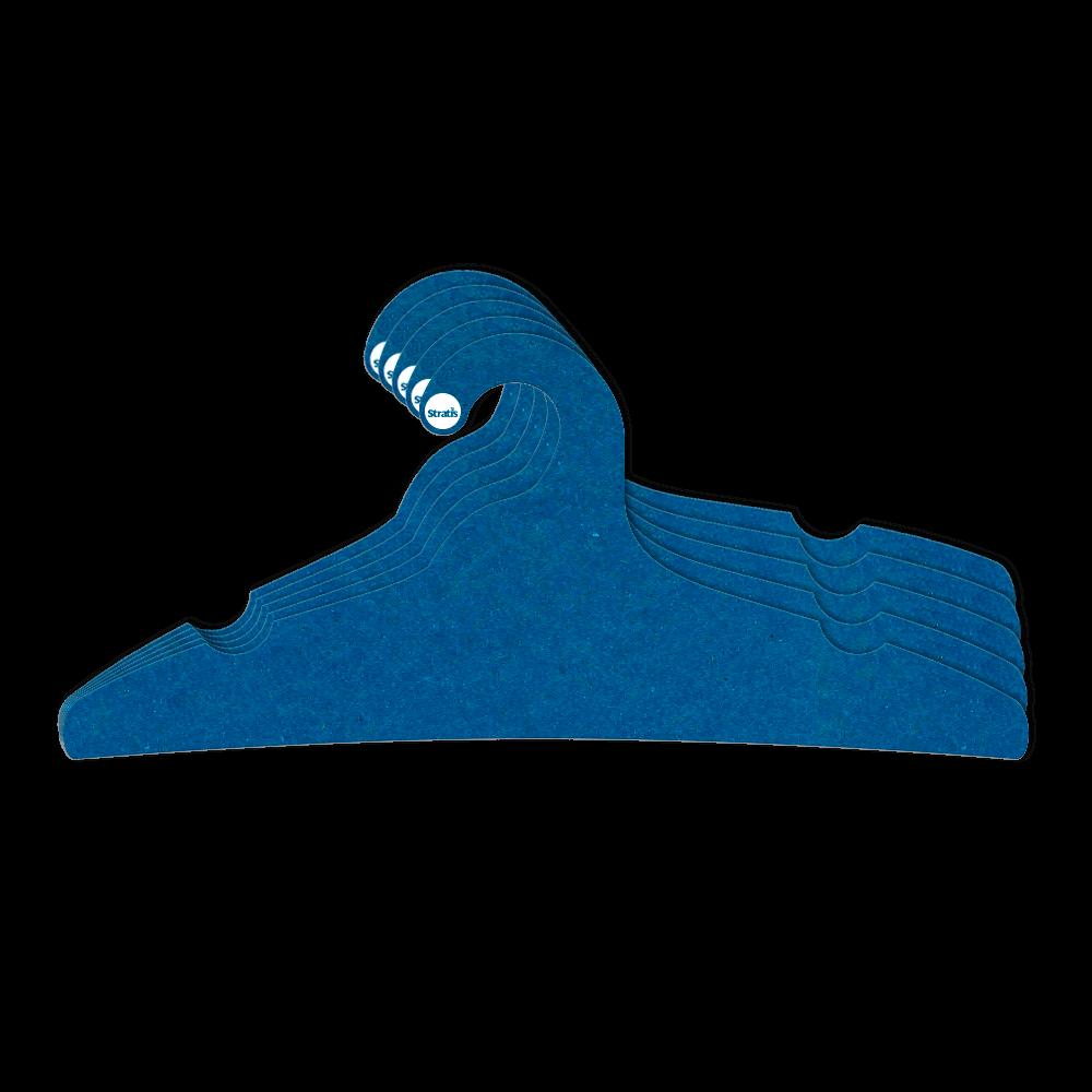 Leve 12 Pague 10  - Cabide Ecológico Adulto -  Azul Royal - CS104