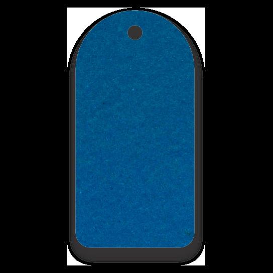 Tag Etiquetas Ecológicas - Azul Royal- CS300