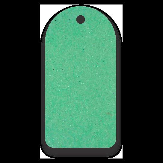 Tag Etiquetas Ecológicas - Verde Claro - CS300