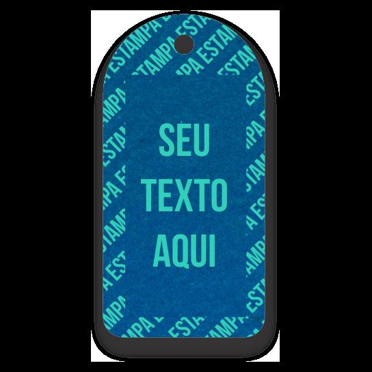 Tag Etiquetas Ecológicas Personalizados com sua Logomarca   - Azul Royal - CS300