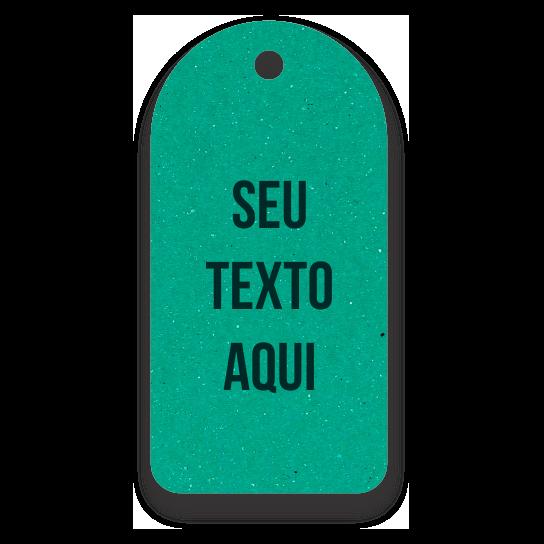 Tag -Etiquetas Ecológicas - Personalizados com sua Logomarca   - Verde - CS300