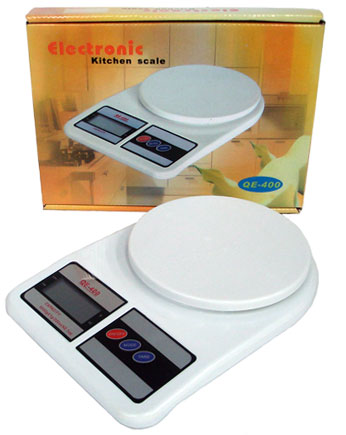 Balança Digital Eletrônica até 7 Kg Precisão 1 Grama - Magazine Legal