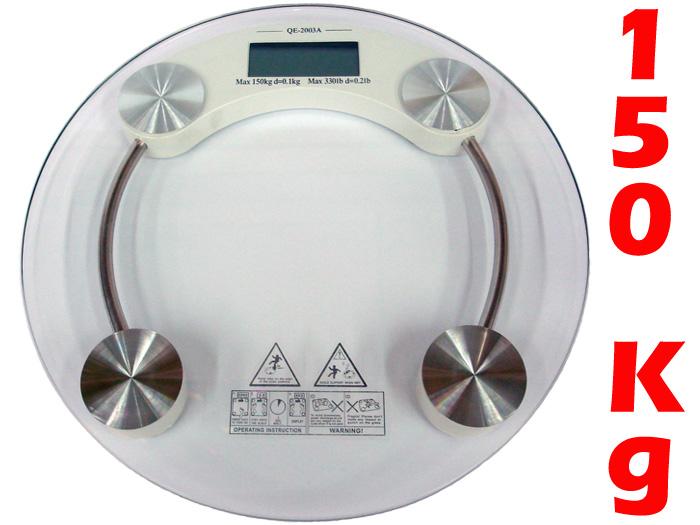 Balança Pessoal Digital pesa até 150 Kg Vidro Temperado - Magazine Legal