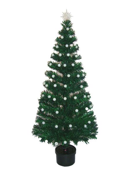 Arvore de Natal 90 cm Fibra Otica e Led de Bolinhas Coloridas - Magazine Legal