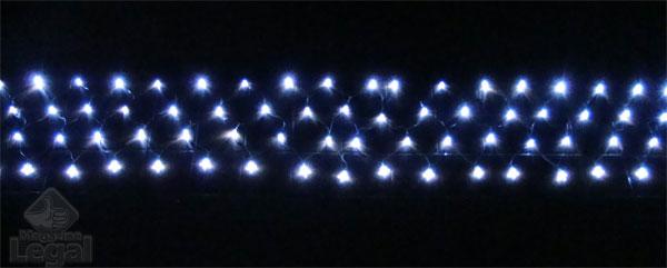 Pisca Cascata com 160 Leds Brancos Alto Brilho e Sequencial 8 Funções - Magazine Legal