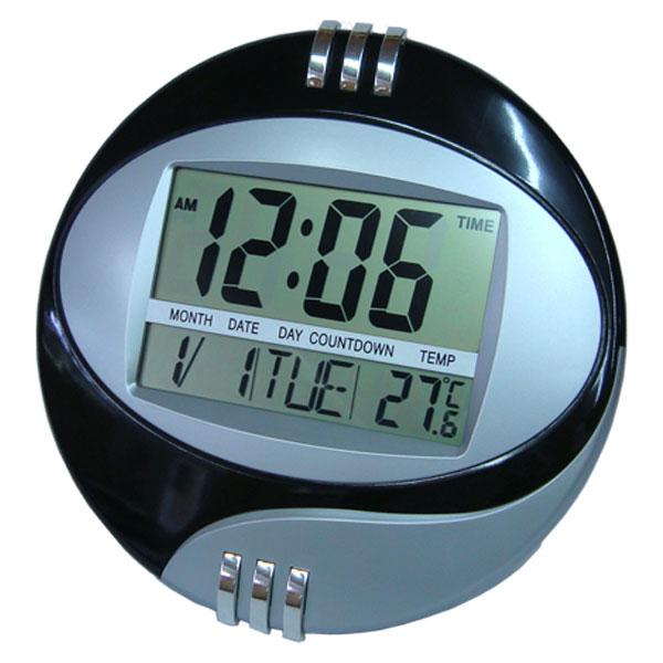 afad64ca481 Relógio de Mesa ou Parede Digital com Termômetro
