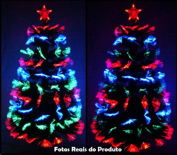 Arvore de Fibra Ótica 1,50 Mts c/ Pontas dos Galhos com Leque Fibra Ótica - Magazine Legal