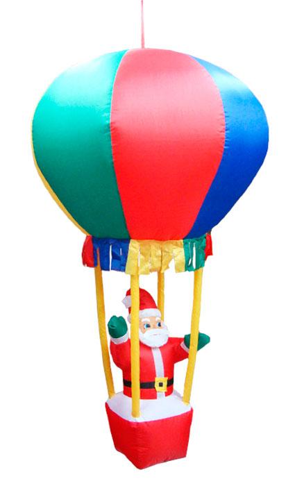 Inflável Papai Noel no Balão com Cesto - 1,70 Mts. de Altura - Magazine Legal