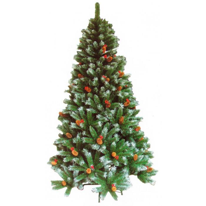 Arvore de Natal Nevada com 1.156 Galhos - 2,10 Mts - Magazine Legal