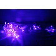 Pisca Pisca 100 Leds Lilás de Brilho Super Intenso - 7,5 Mts