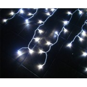 Cascata com 300 Leds Brancos Super Brilho e Sequencial - 6 Mts - Magazine Legal