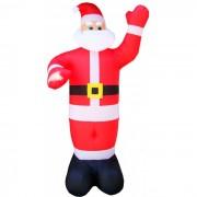 Inflável Gigante Papai Noel com 3,00 Mts. de Altura