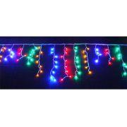 Cascata 400 Leds Coloridos c/ Sequencial - Enfeite Natal 8 Mts Comprimento. - Magazine Legal