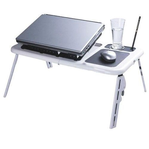 Mesa Para Notebook  Portátil Dobrável 2 Coolers DS1419