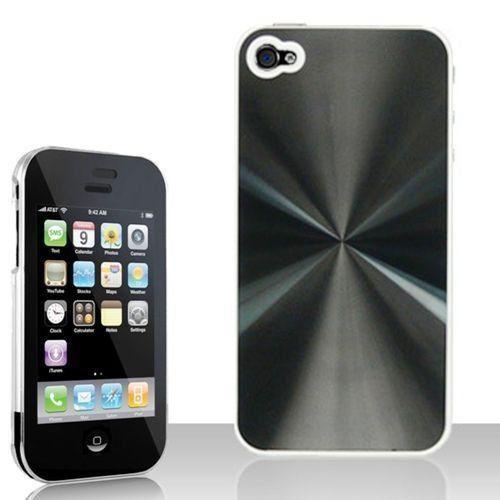 Case para Iphone Capa Proteção Alumínio e Acrílico Iphone 4G