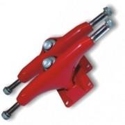 Kit 2 Trucks Especiais Alumínio para Skate Bel Fix Sports mod 4037