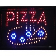 Letreiro luminoso de Led 110v Pizza 1601