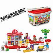 Blocos de Montar Toy SUPERMARKET Education Creative MC166029