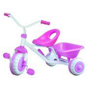 Triciclo Infantil com Bagageiro Topo Y912C Menino ou Menina