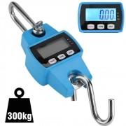 Balança Suspensa Digital Precisão de Gancho 300 Kg Azul CBRN09343