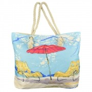 Bolsa de Praia Sacola com Alça de Corda Summer CBRN14910