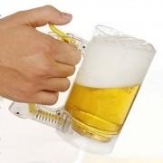 Caneca Chopp e cerveja espuma mágica CBRN07332