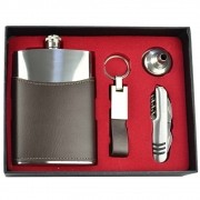 Cantil De Bolso Porta Bebida Whisky Chaveiro Canivete CBRN09015