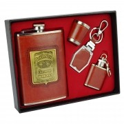Cantil De Bolso Porta Bebida Whisky Mini Cantil CBRN13630