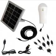 Carregador Solar Multifun��o com Lumin�ria Solar 1660 - EY7001
